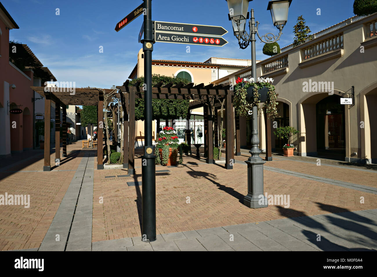 La Reggia Outlet - Mall - in Marcianise, Caserta, Italy Stock Photo ...