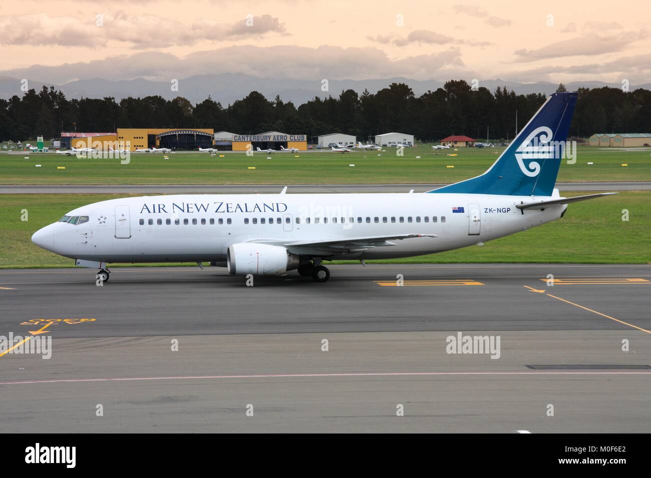 Christchurch International Airport Stock Photos