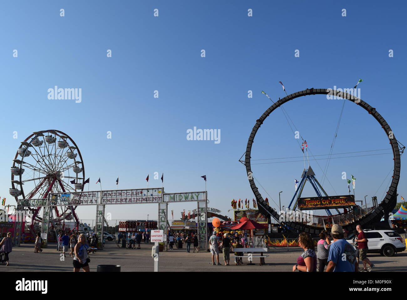 Road Trip to the Illinois State Fair - Stock Image
