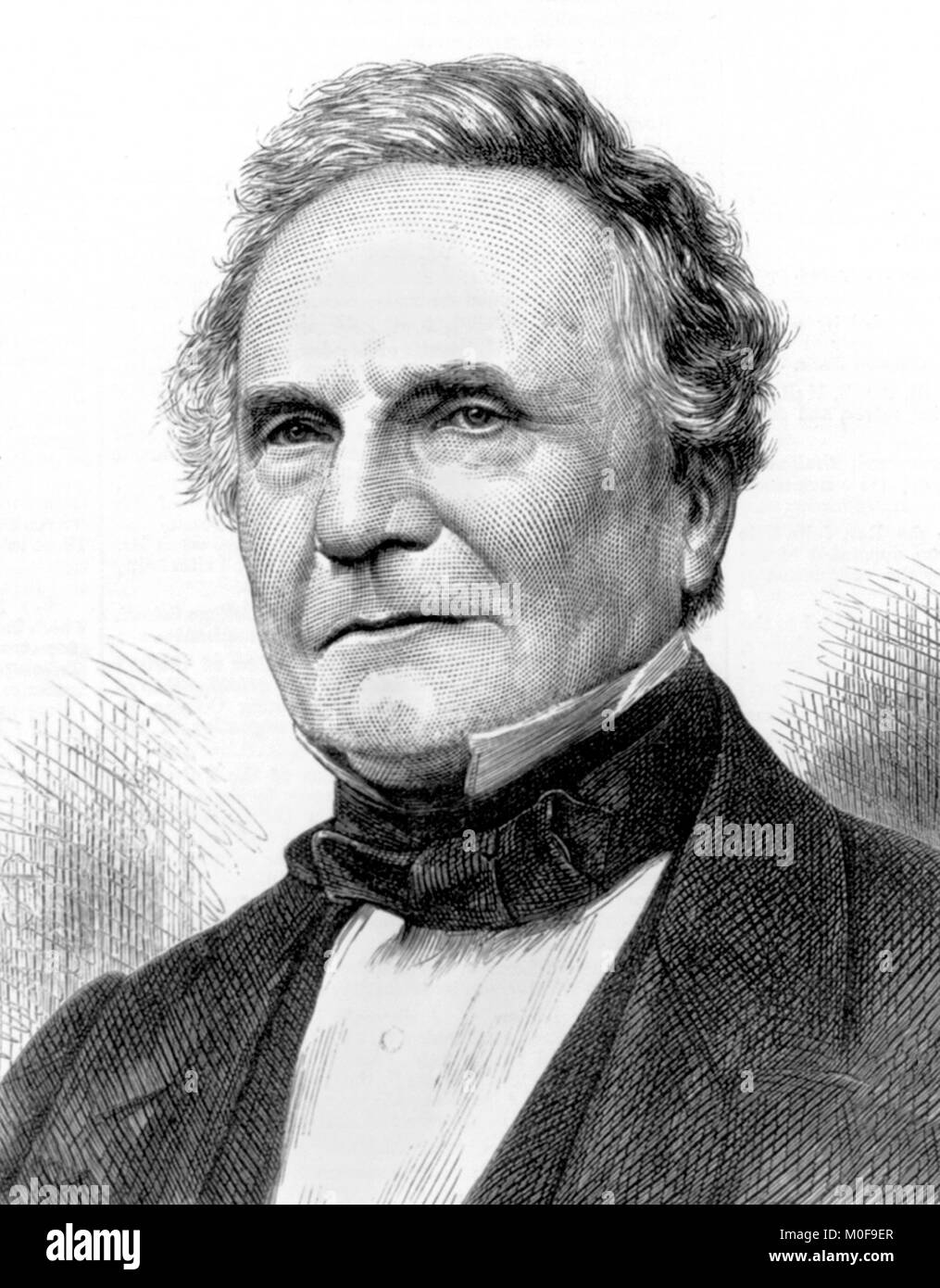 Charles Babbage (1791-1871). - Stock Image