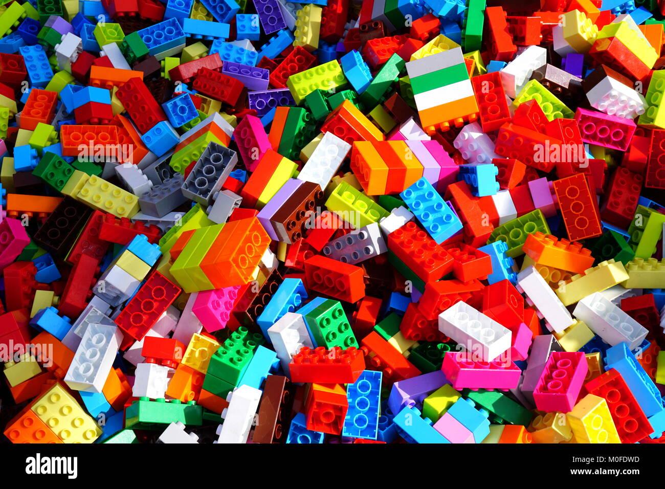 Lego Assorted Building Blocks