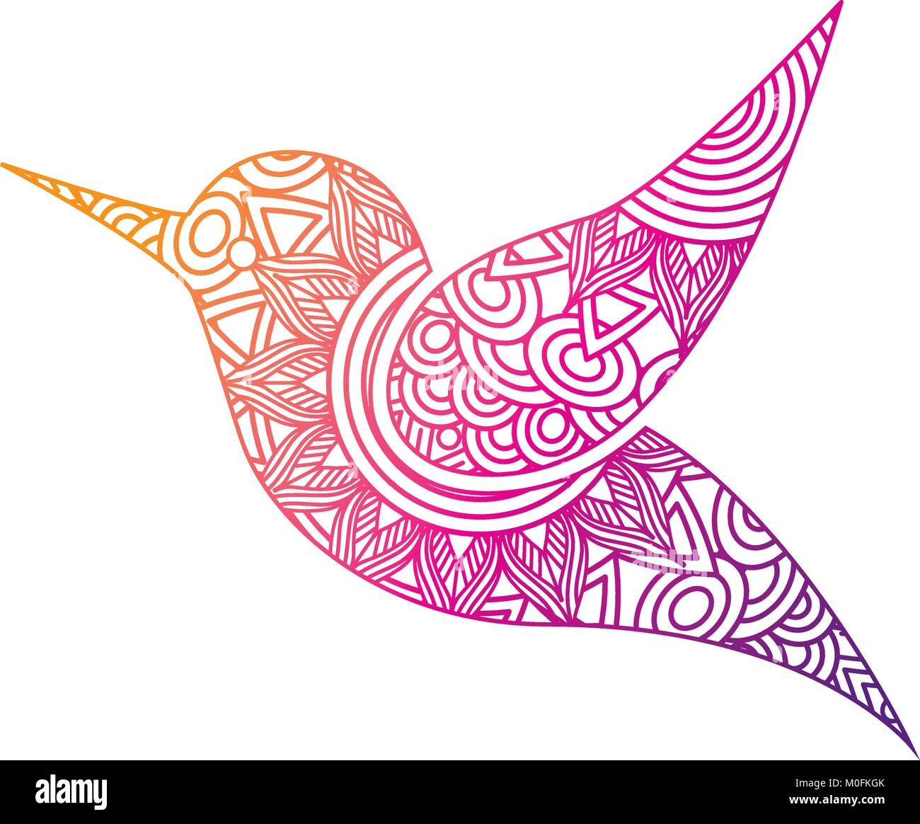 Hummingbird Cartoon Vector Illustration Stock Photos & Hummingbird ...