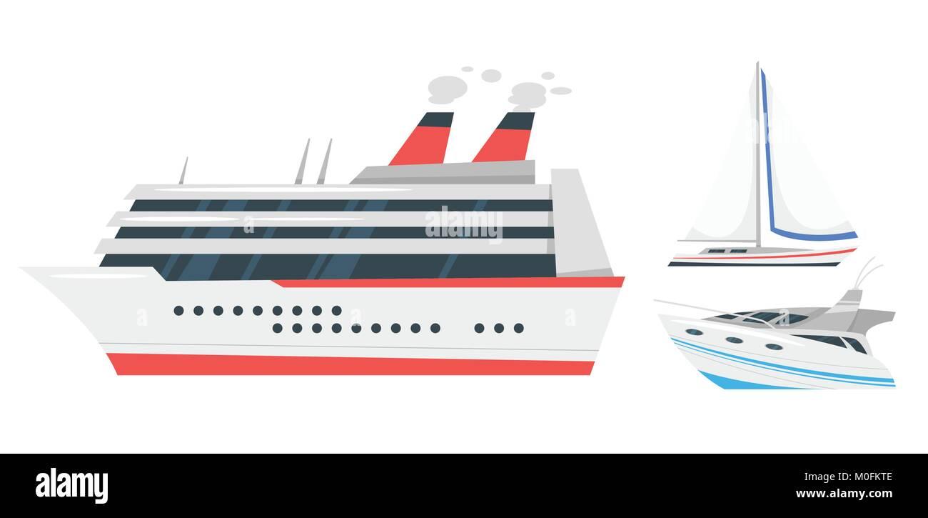 illustration of marine transport - Stock Image