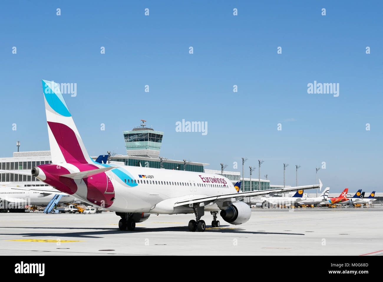flughafen münchen eurowings terminal