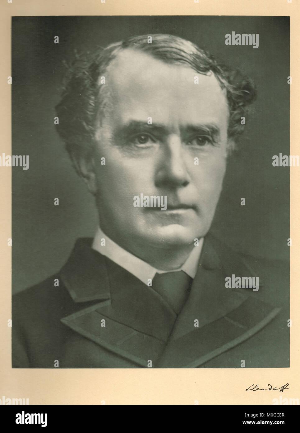Henry Matthews, 1st Viscount Llandaff - Stock Image