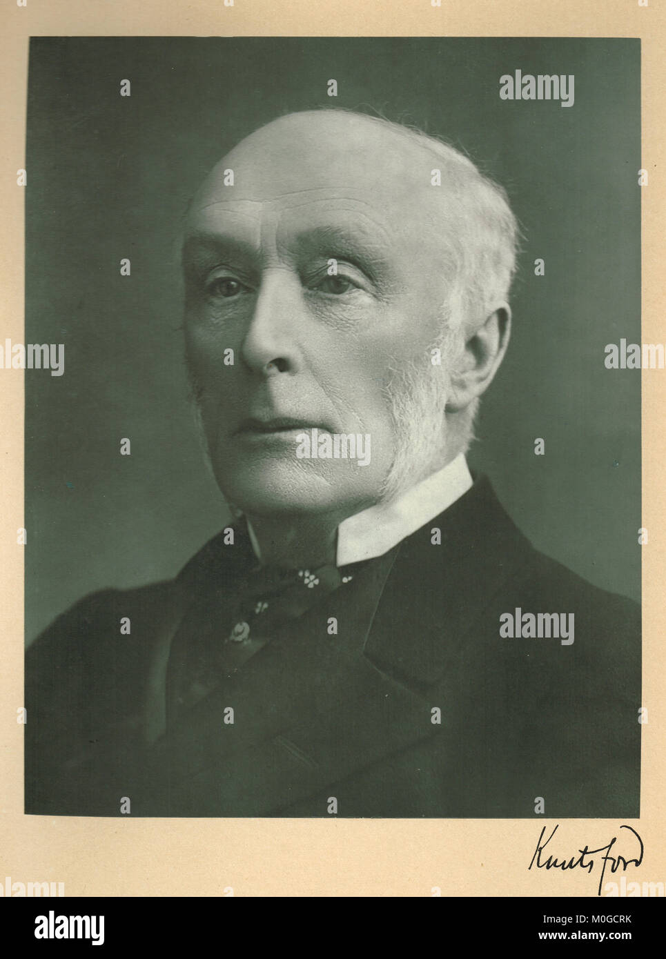 Henry Thurstan Holland, 1st Viscount Knutsford - Stock Image