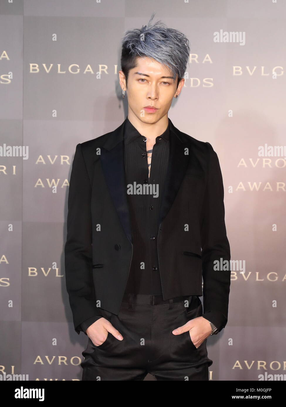 8de1ea25c54 Japanese musician Miyavi attends Bvlgari Avrora Awards in Tokyo ...