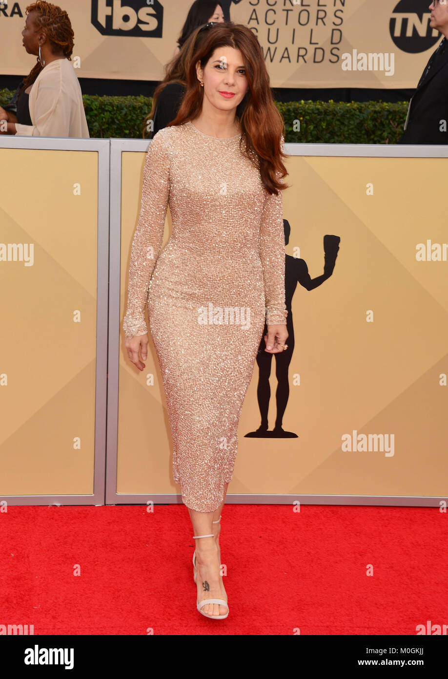 Los Angeles, USA. 21st Jan, 2018. Marisa Tomei 149 attends the 24th Annual Screen Actors Guild Awards at The Shrine - Stock Image