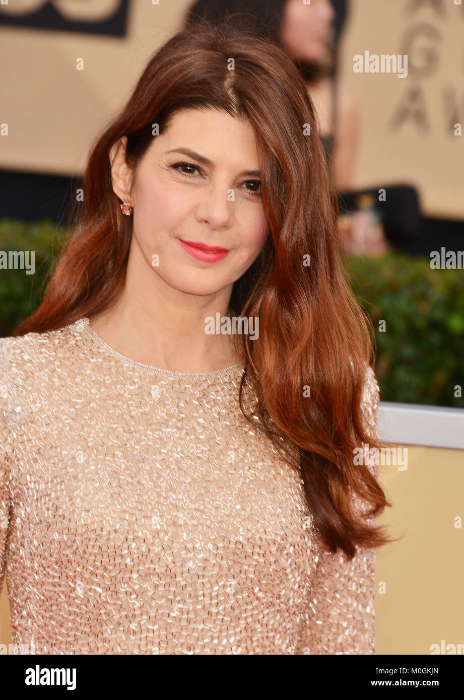 Los Angeles, USA. 21st Jan, 2018. Marisa Tomei 151 attends the 24th Annual Screen Actors Guild Awards at The Shrine - Stock Image