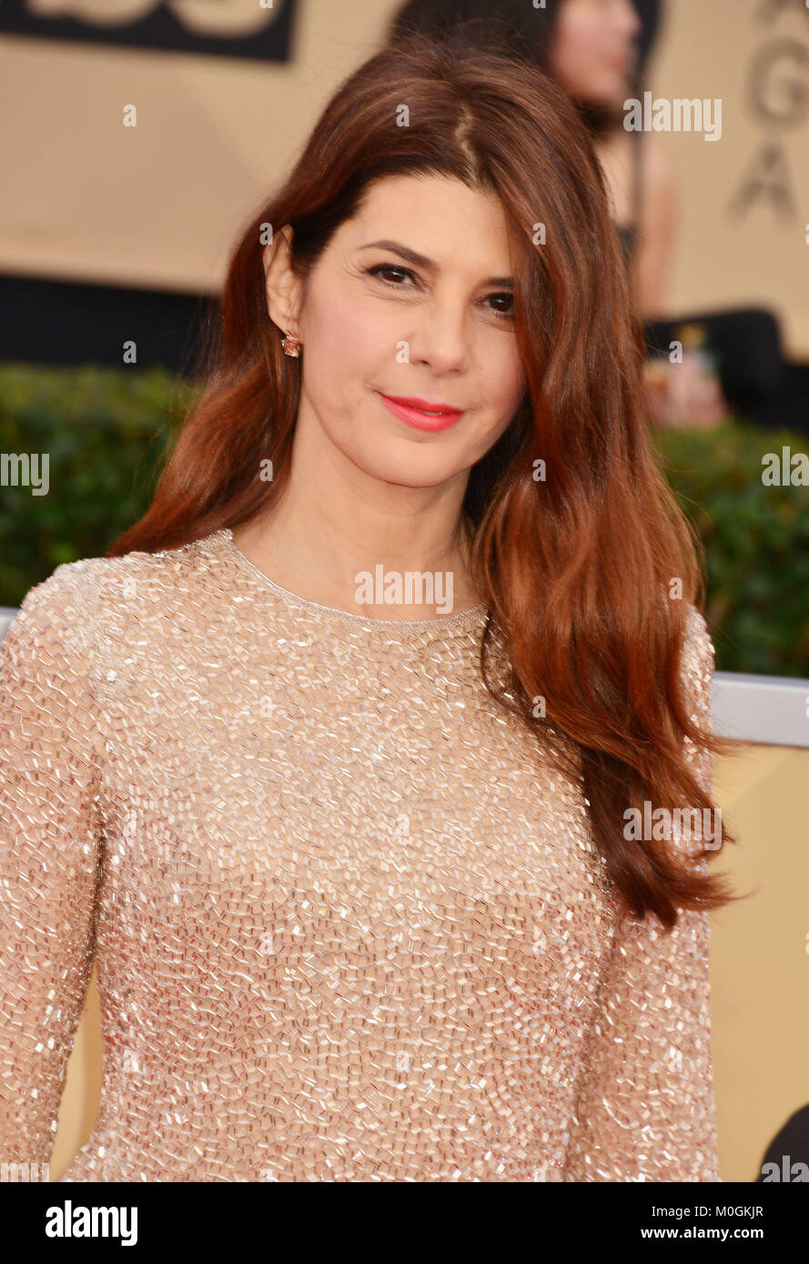 Los Angeles, USA. 21st Jan, 2018. Marisa Tomei 152 attends the 24th Annual Screen Actors Guild Awards at The Shrine - Stock Image