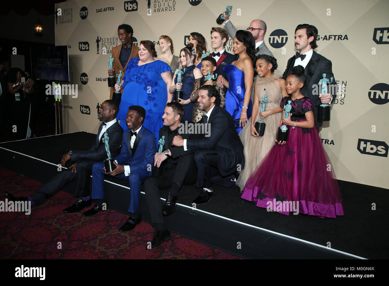 Los Angeles, Ca, USA  21st Jan, 2018  Cast of 'This Is Us