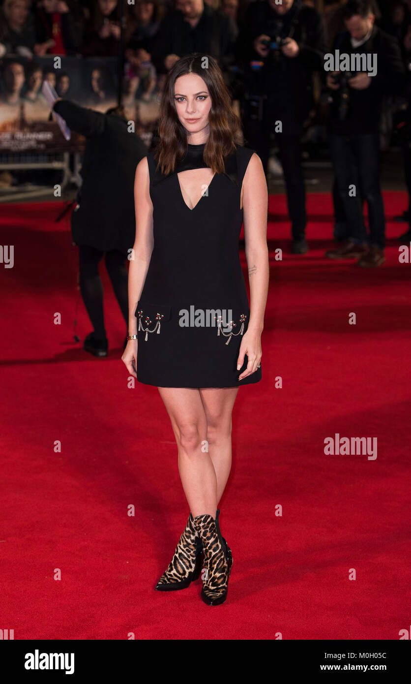 'Maze Runner: The Death Cure' film premiere. - Stock Image