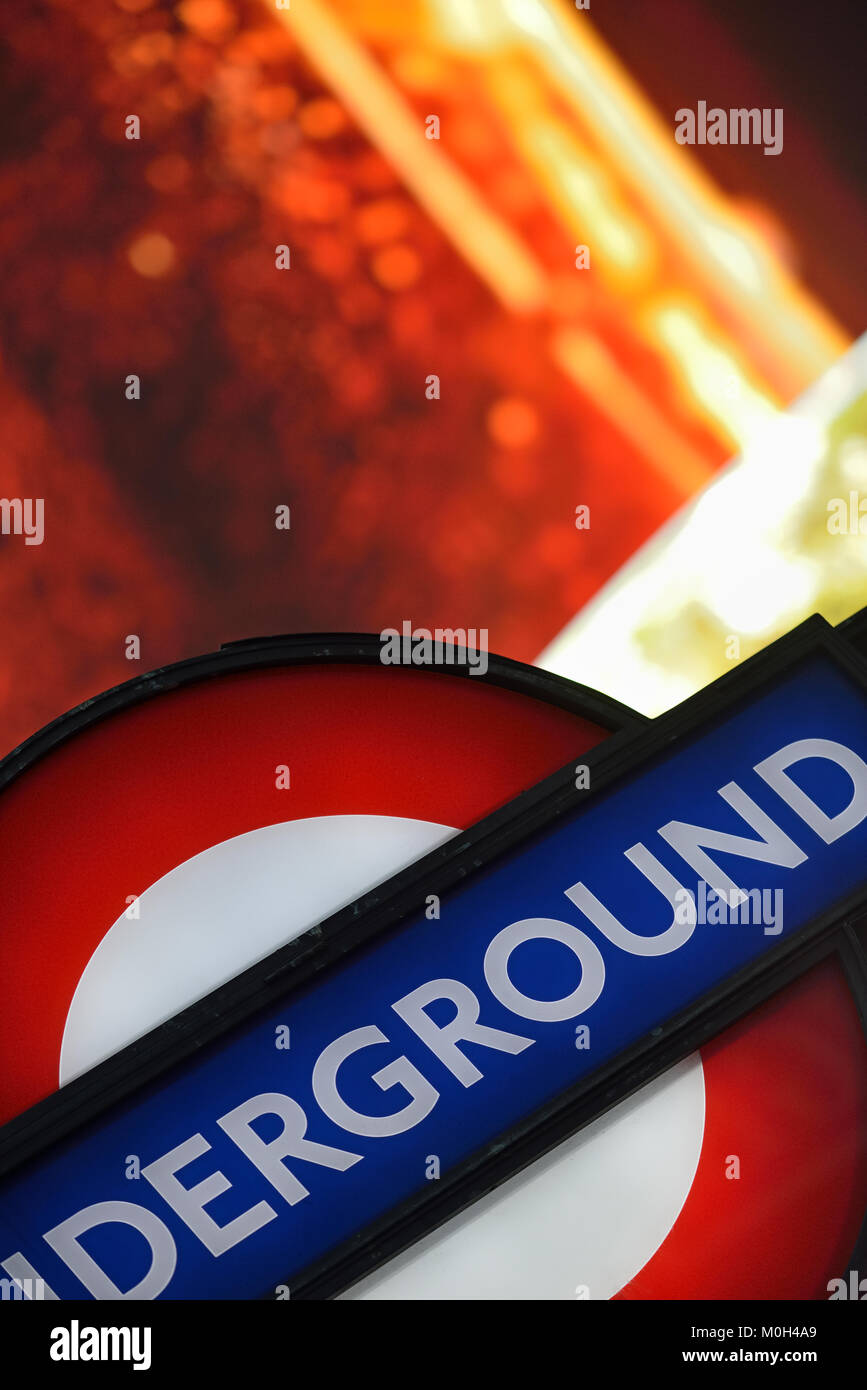 Piccadilly Circus, London, United Kingdom - Stock Image