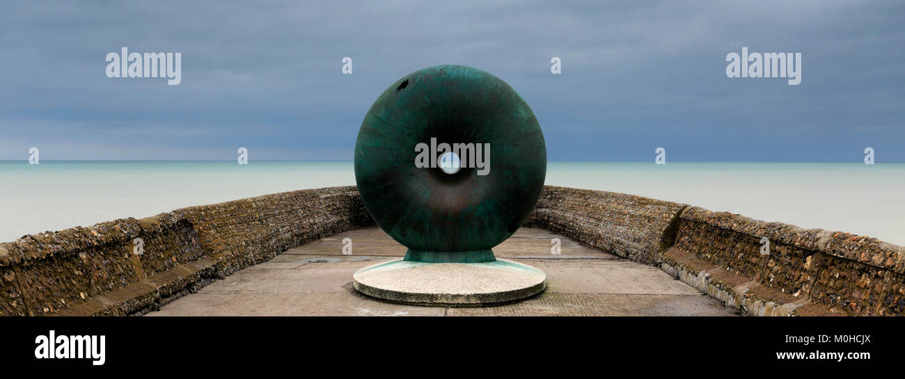 The Afloat sculpture, Brighton Palace Pier, Brighton & Hove, East Sussex, England, UK Stock Photo