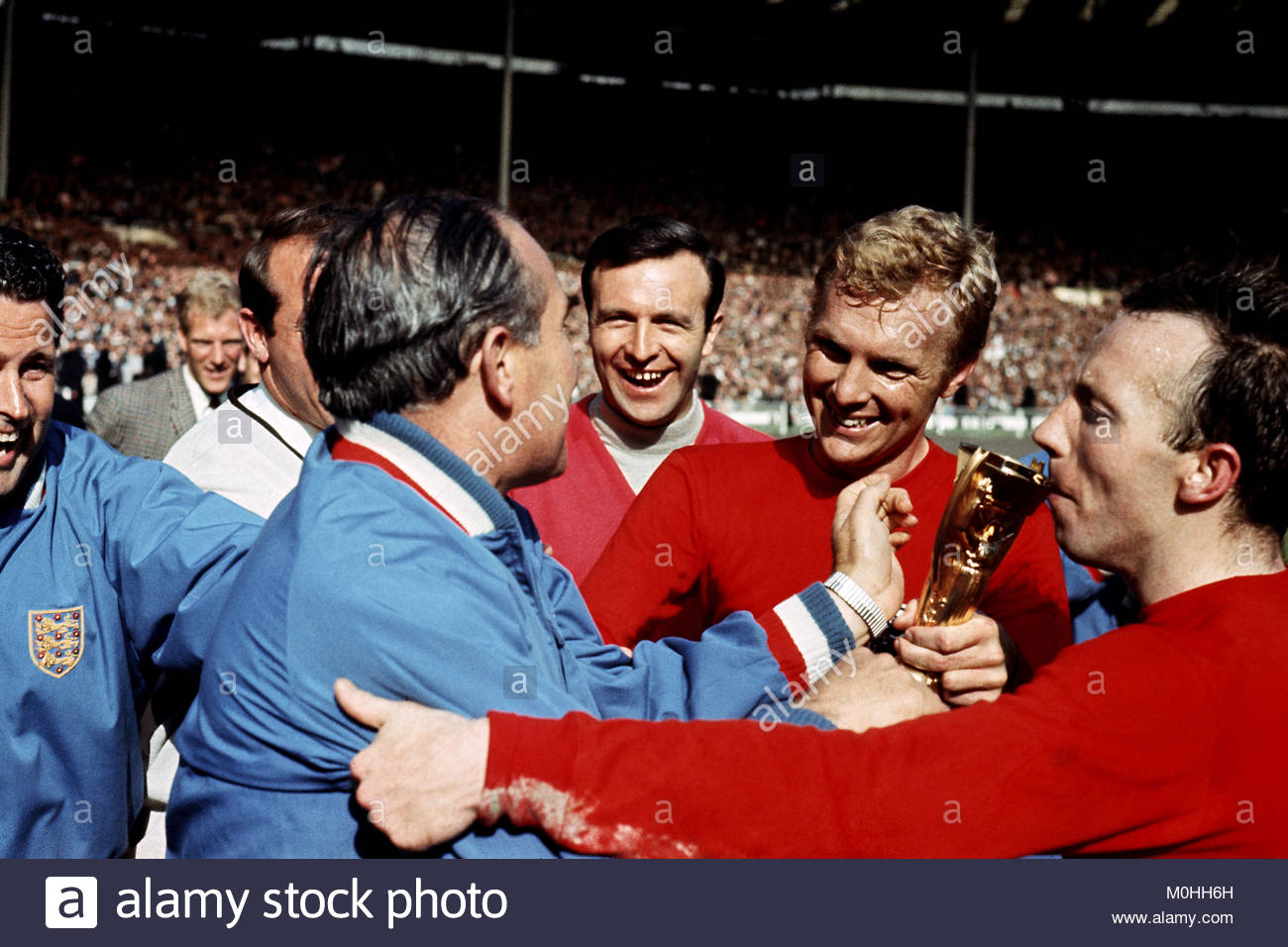 File Photo Dated 30 07 1966 Of England Manager Alf Ramsey Third L