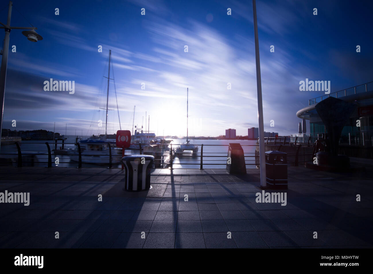 Harbour - Stock Image