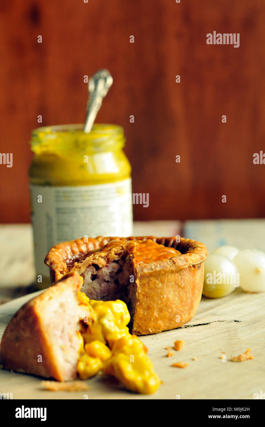 Pork Pie - Stock Image