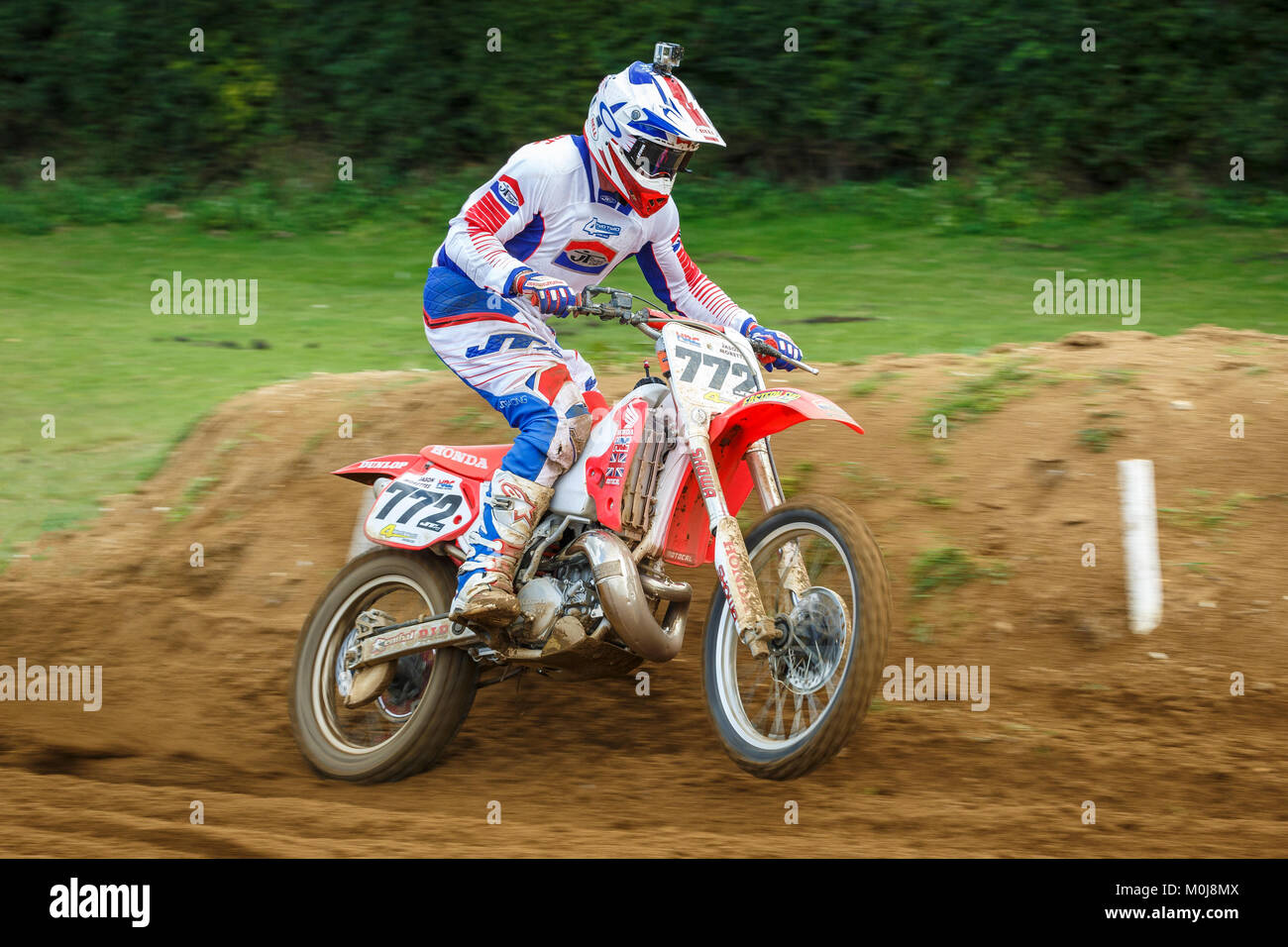 at the NGR & ACU Eastern EVO Championships, Cadders Hill, Lyng, Norfolk, UK. - Stock Image