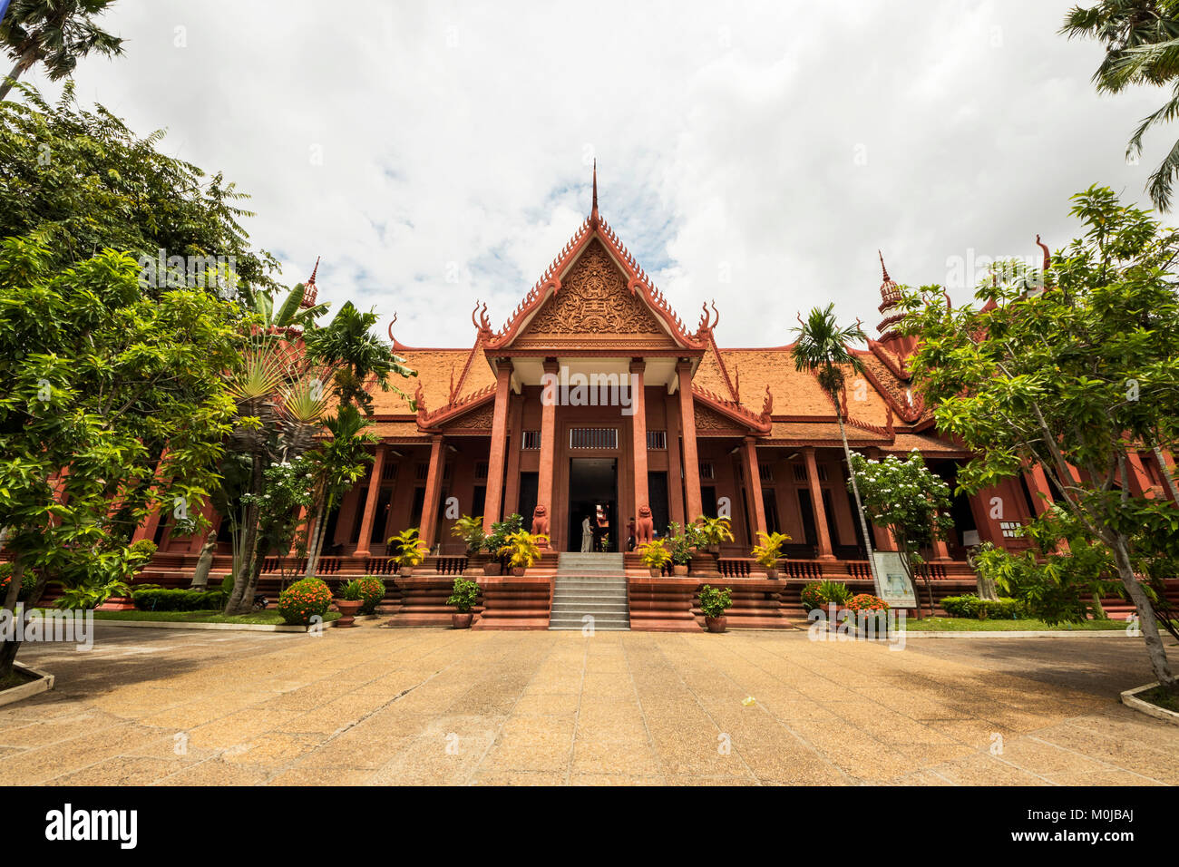 National Museum of Arts; Phnom Penh, Cambodia - Stock Image
