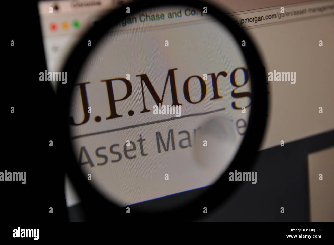 JP Morgan Stock Photo