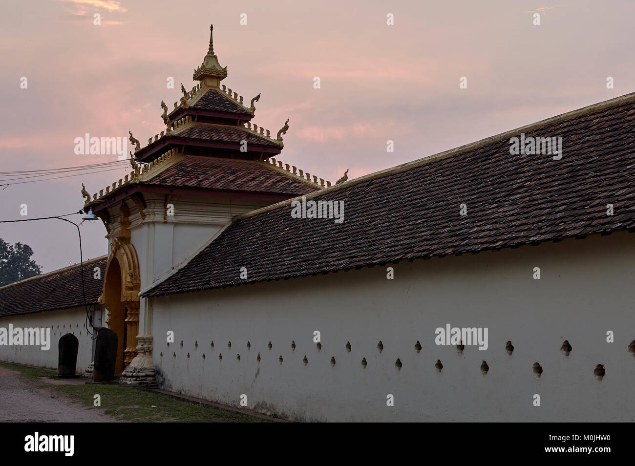 Images of Pha That Luang - Stock Image
