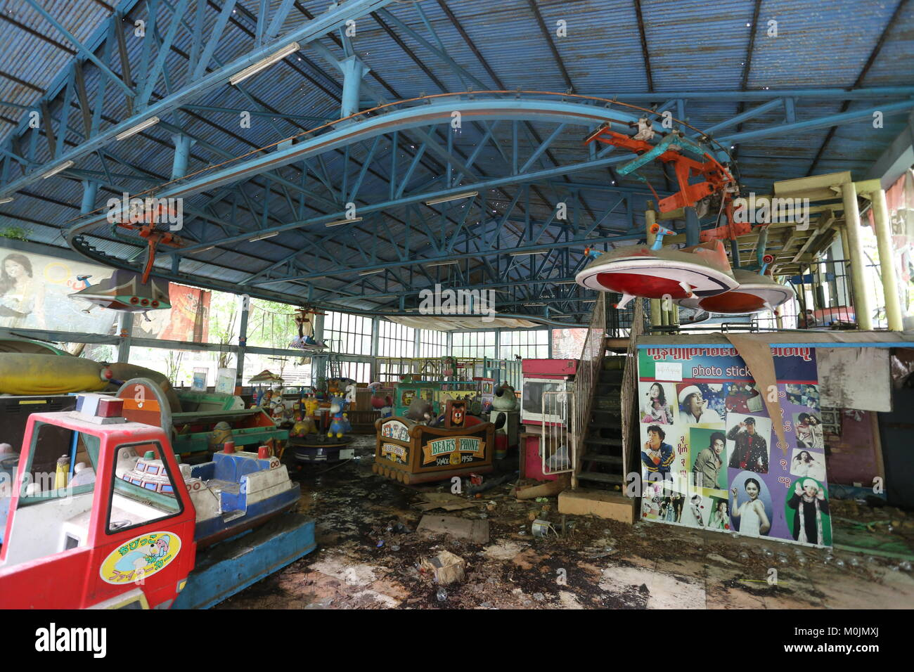 Page 2 Abandoned Amusement Park High Resolution Stock Photography And Images Alamy
