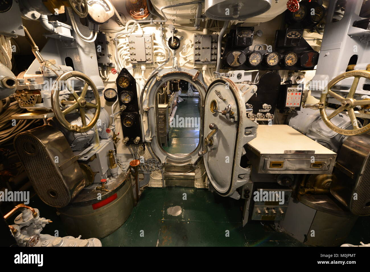 fuse box lock stock photos & fuse box lock stock images alamy  controls and an open door on the submarine uss drum stock image