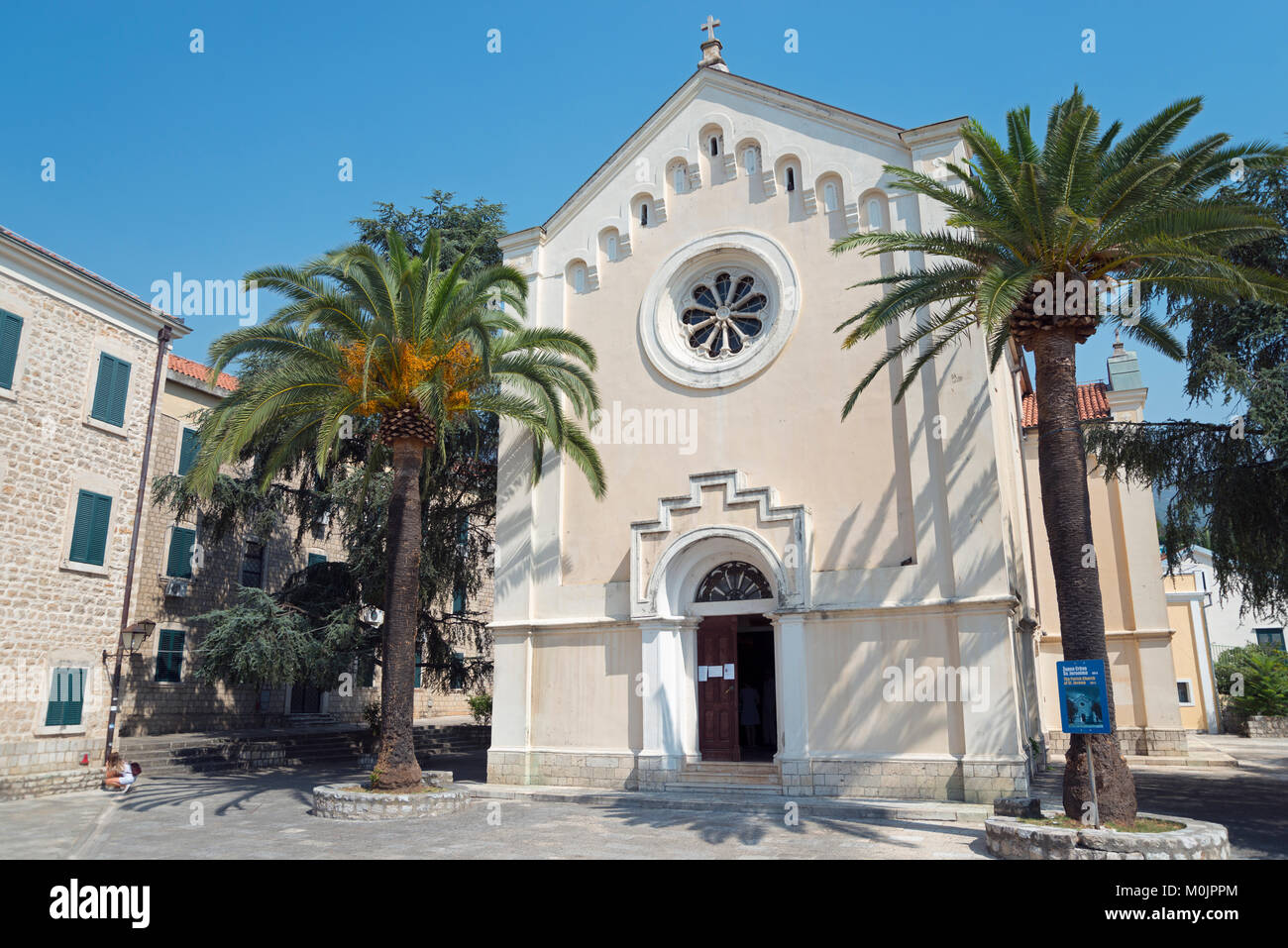 Church of Sveti Jeronima, Herceg Novi, Montenegro - Stock Image