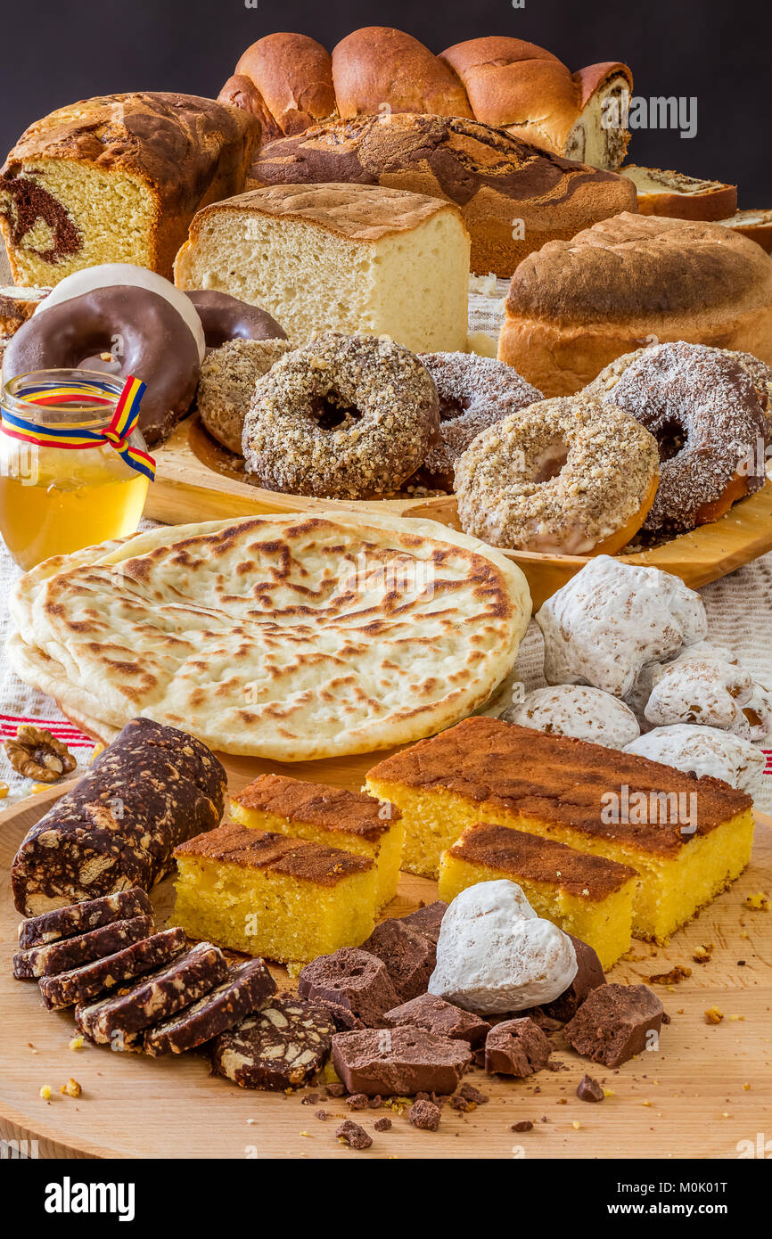 bakery products - Stock Image