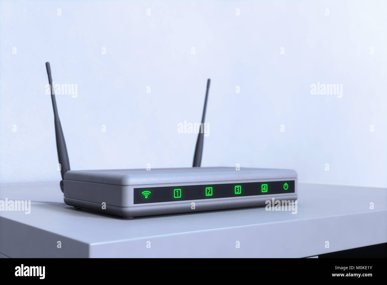 A W-LAN Router - Stock Image