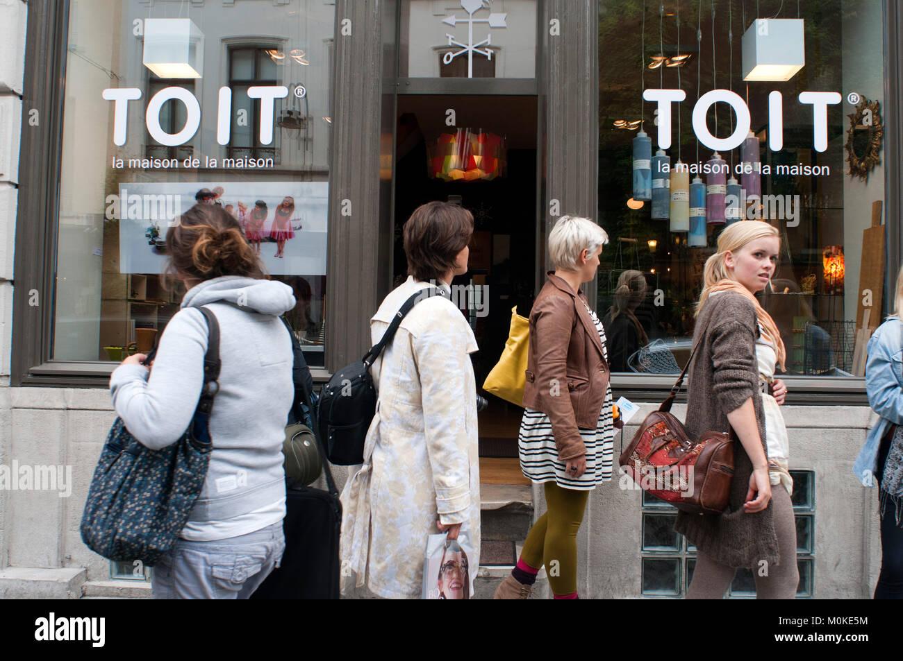 TOIT Products For Home, La Maison De La Maison   Home Decor   Rue Des  Chartreux, Brussels, Belgium