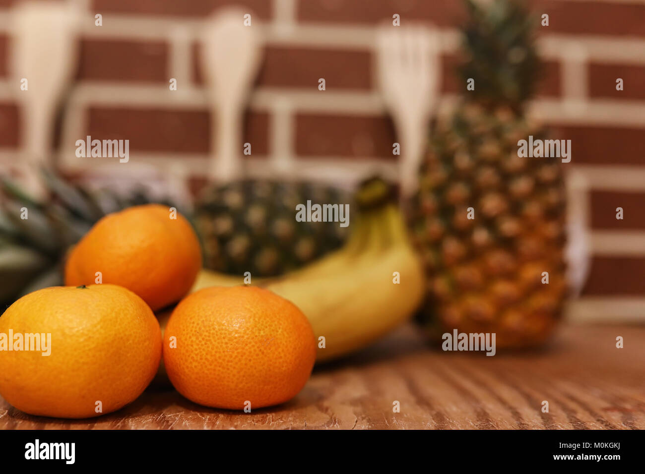 different objects on a kitchen Stock Photo