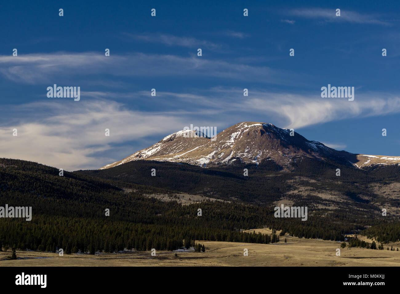 The Buffalo Peaks Wilderness, near Fairplay, Colorado. - Stock Image