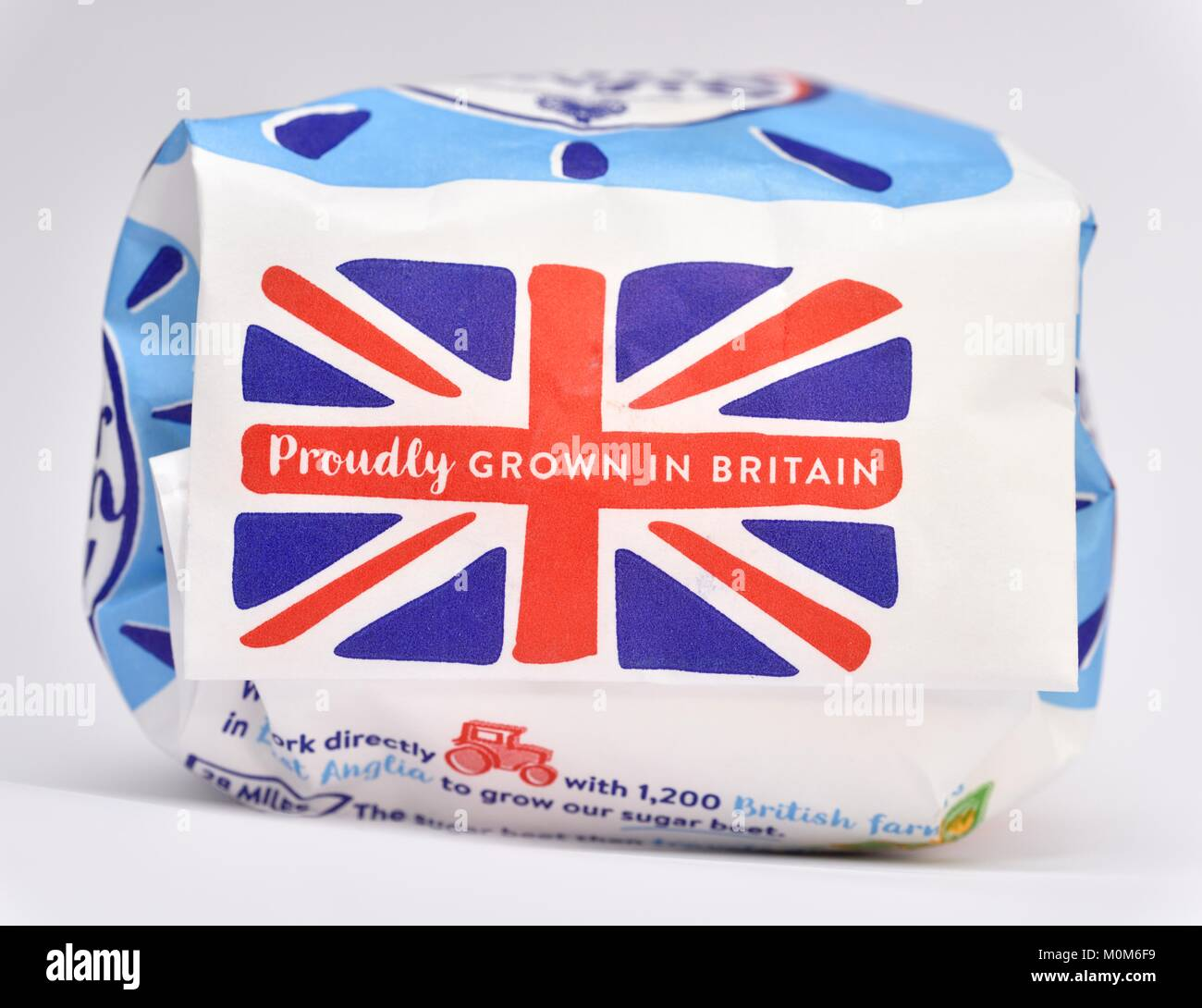 Proudly Grown In Britain - Stock Image