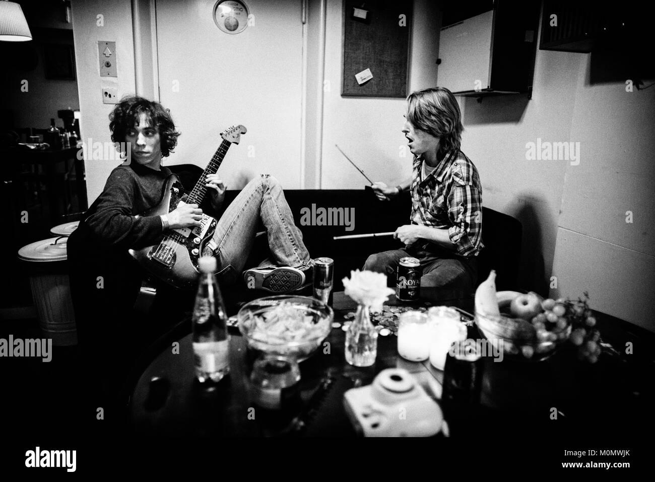 Honza and rado backstage