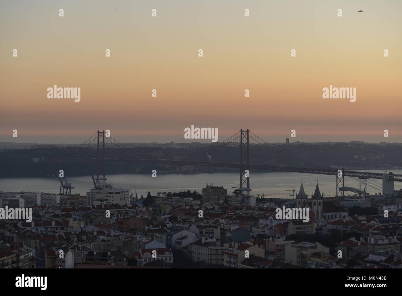Lisbon, December 2017 - Stock Image