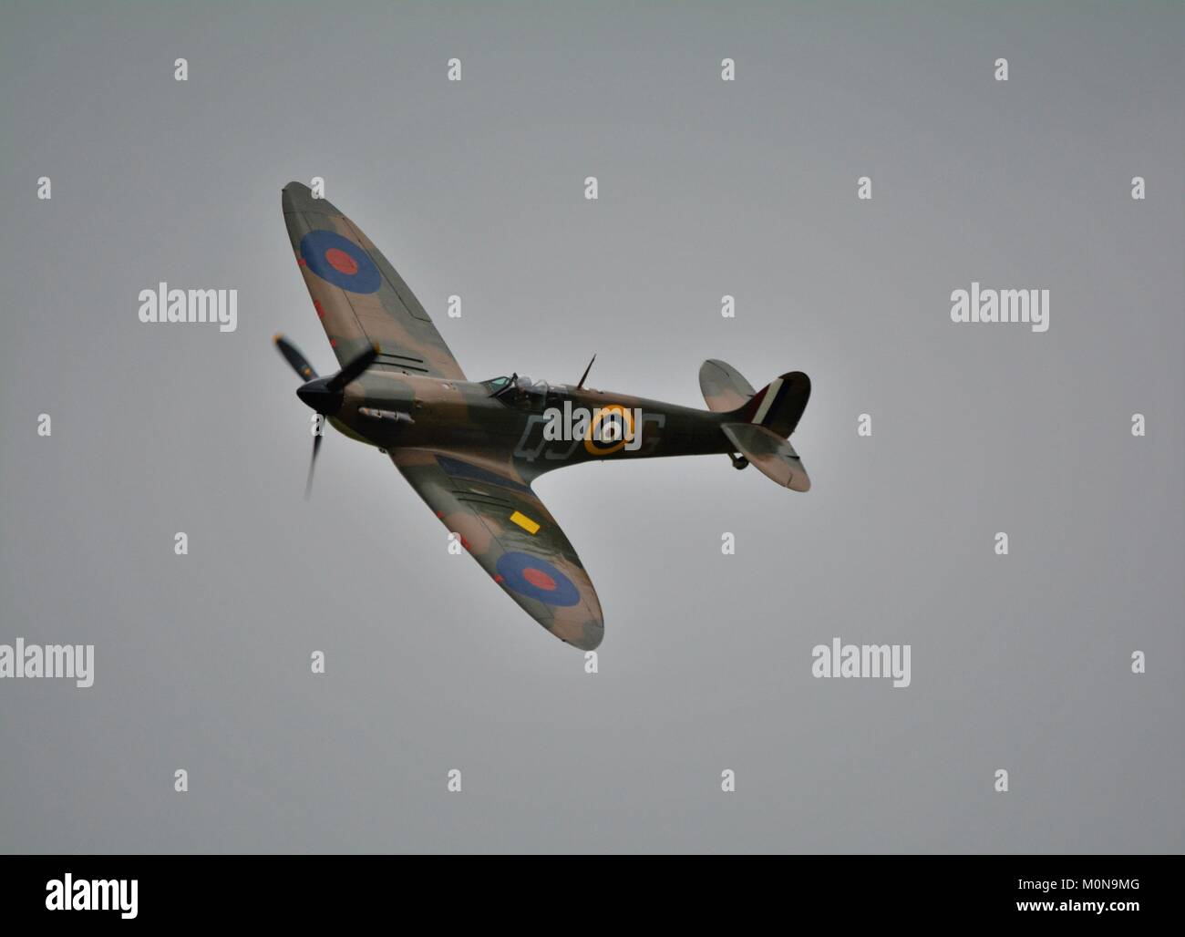 Supermarine Spitfire 11a world war 2 classic fighter airplane - Stock Image