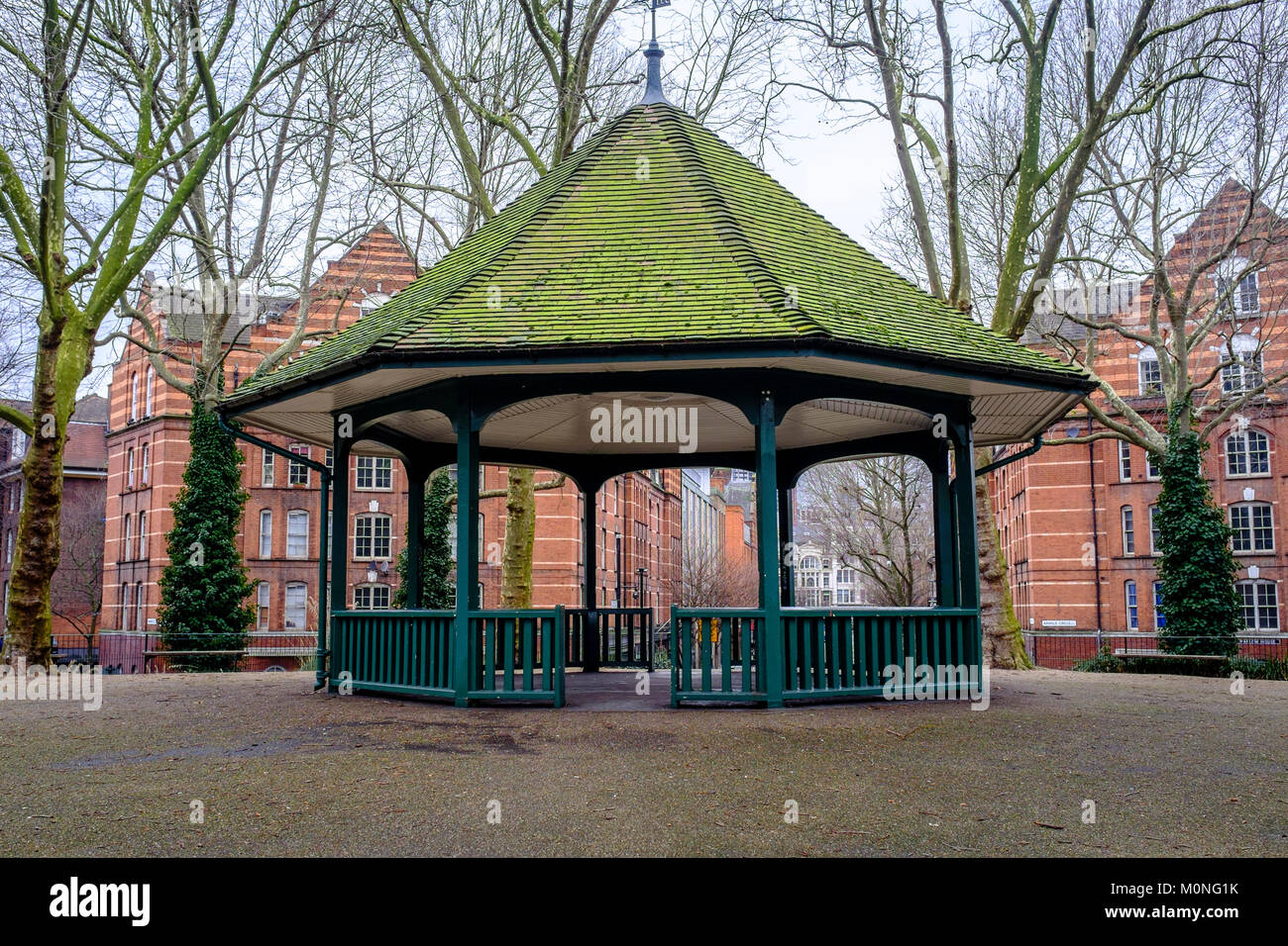 Bandstand at Arnold Circus, Boundary Estate, Bethnal Green, Tower Hamlets. - Stock Image