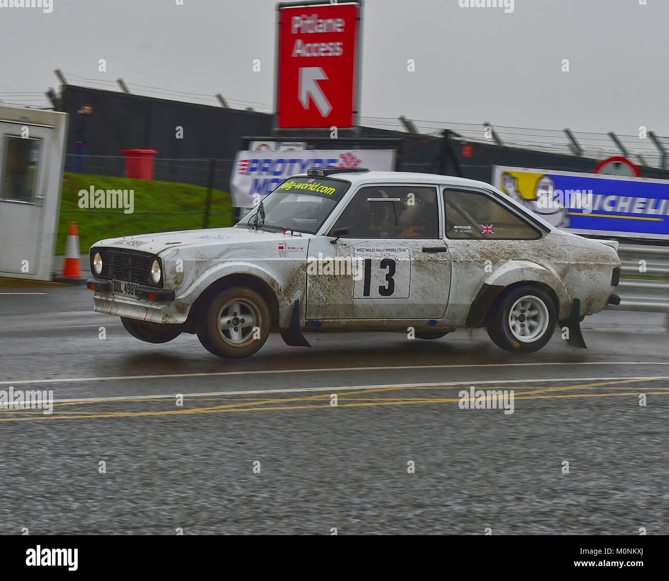 Robin Adams, Ray Keith, Ford Escort RS, MGJ Rally Stages, Chelmsford Motor