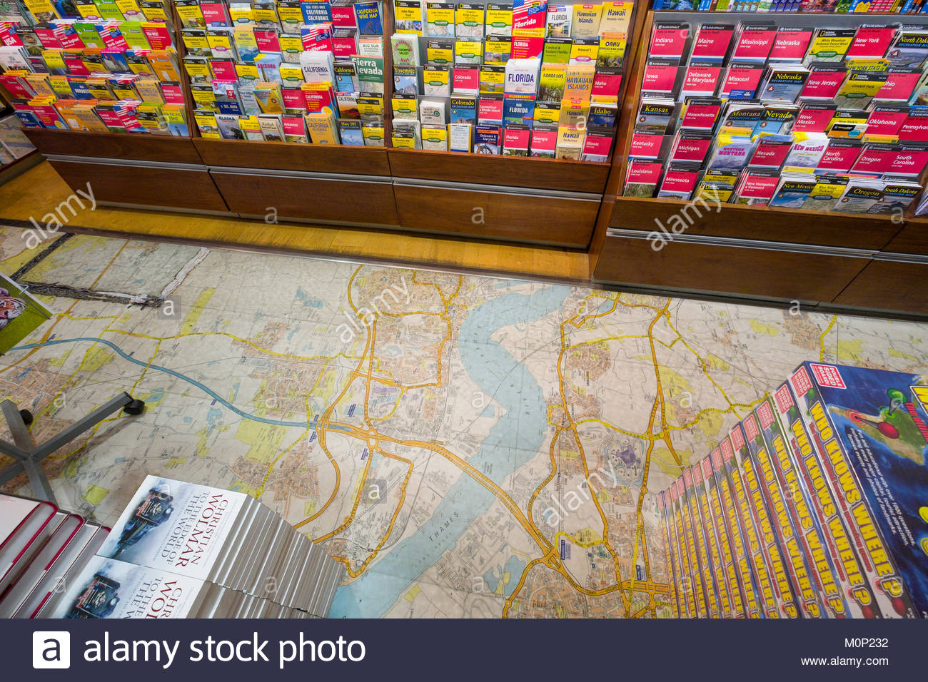 Large Scale Map Used As Flooring In The Map And Travel Guide Section Of  Stanfords, The Worldu0027s Largest Map And Travel Bookshop, Covent Garden, City