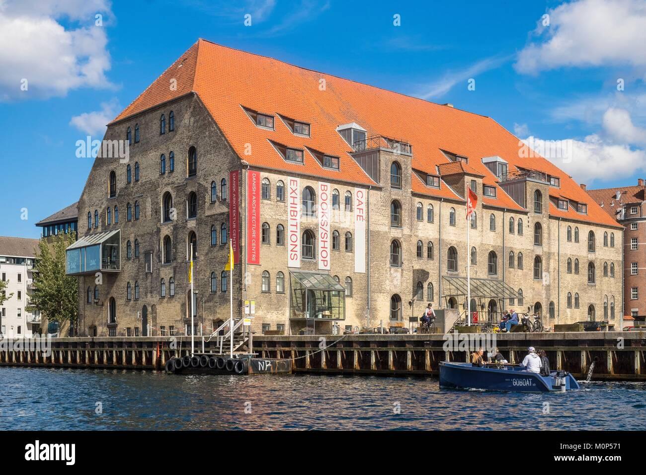 Denmark,Zealand,Copenhagen,Danish architectural centre - Stock Image