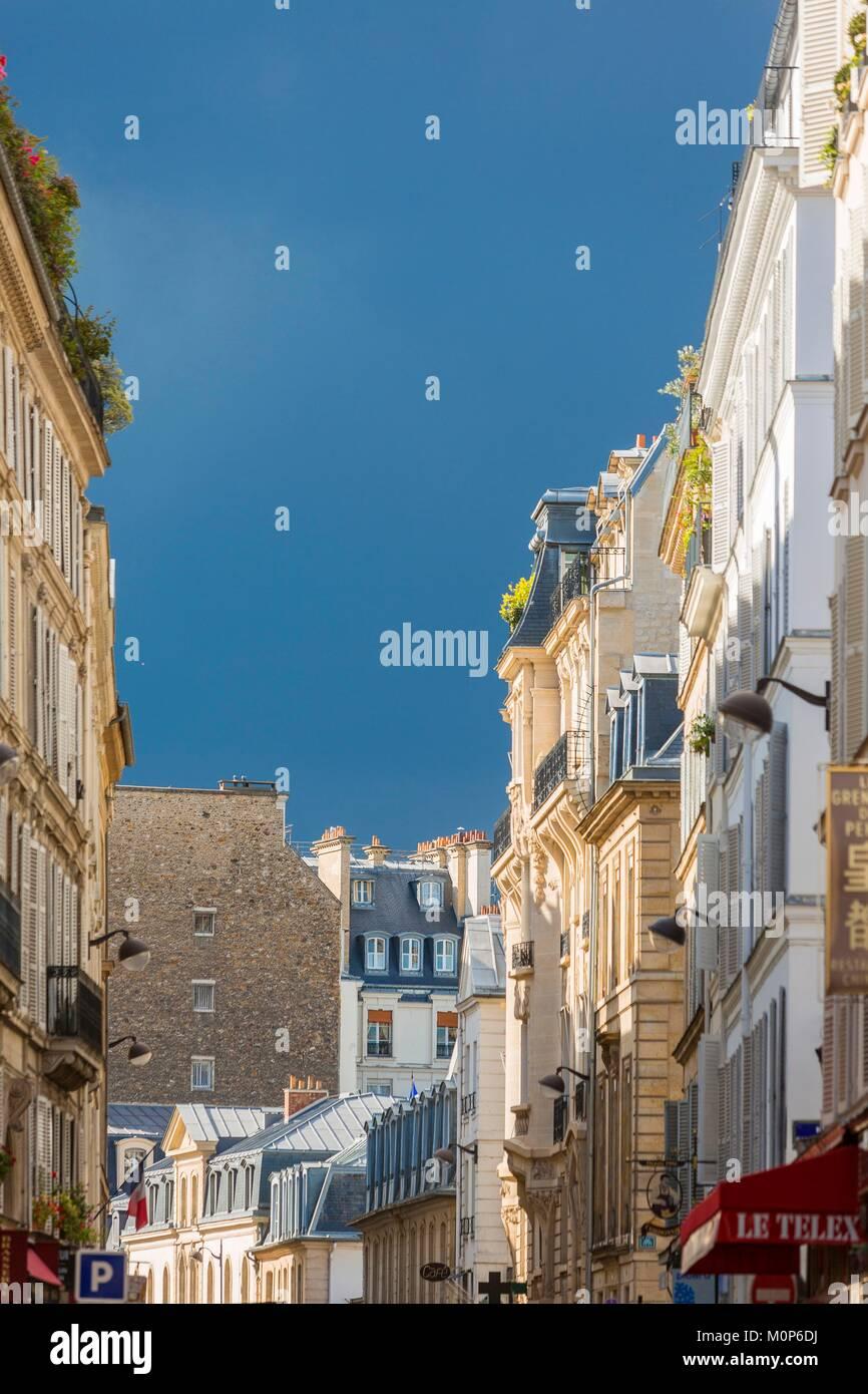 France,Paris,Rue de Grenelle - Stock Image