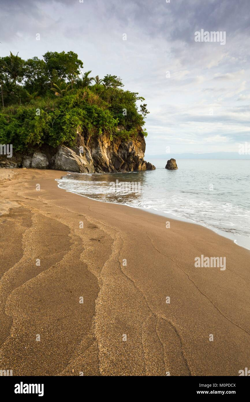 Philippines,Luzon,Albay Province,Tiwi,Matalibong beach Stock Photo