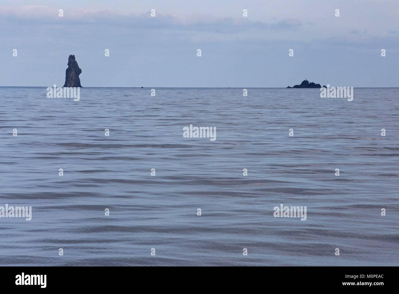 Italy,Sicily,Aeolian Islands,Filicudi Island,the walking stick Stock Photo