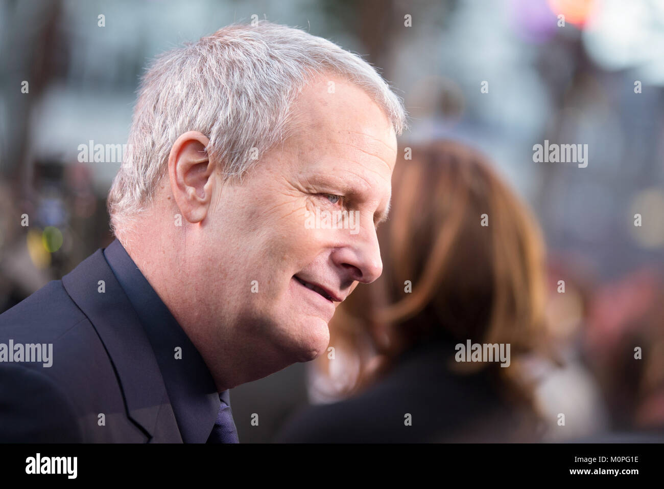 London, UK,  24 September 2015,Jeff Daniels, European Premiere of 'The Martian' at the Odeon Leicester Square. - Stock Image