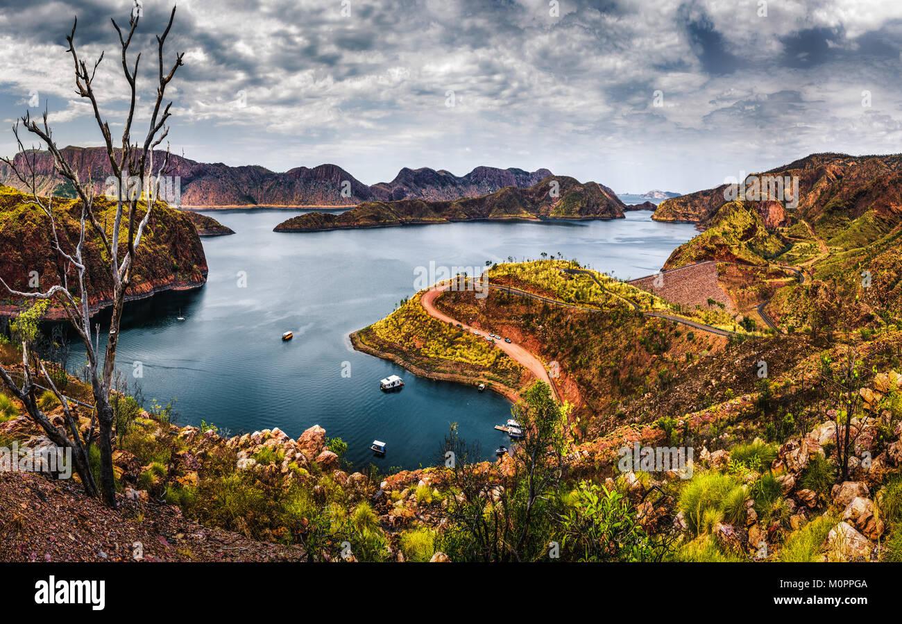 Lake Argyle, Kimberley, Western Australia - Stock Image