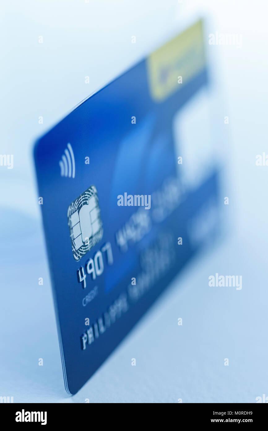 Kreditkarte Detailaufnahmen - Stock Image