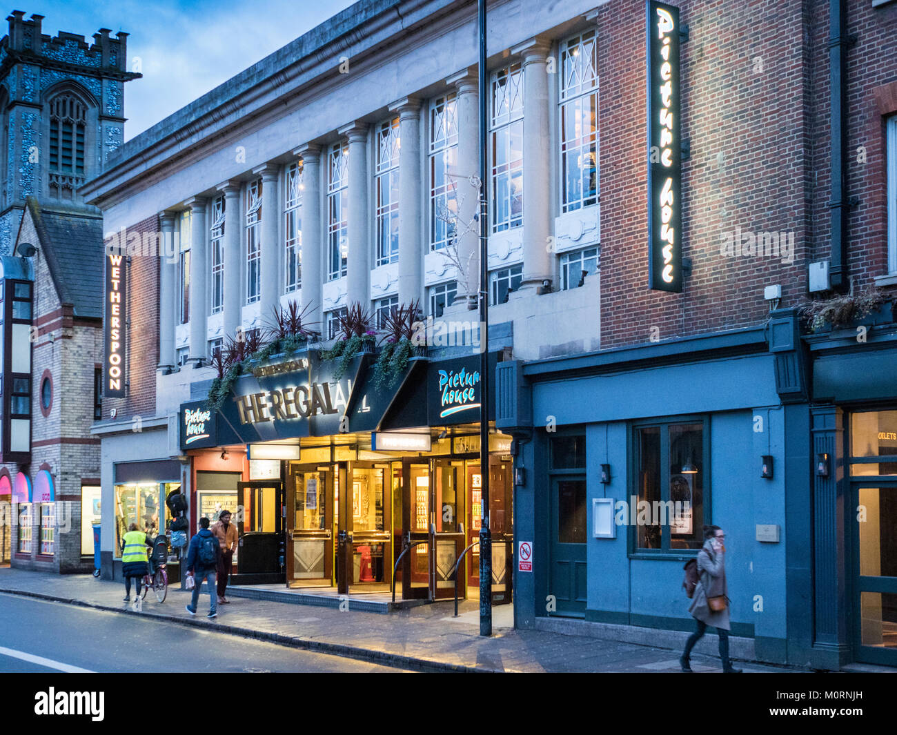 Cambridge Arts Picturehouse Cinema on Regent Street in central Cambridge UK - part of the Picturehouse cinema network - Stock Image