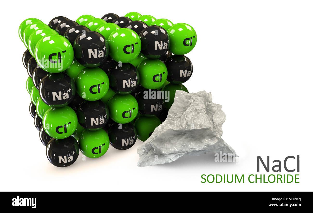 Sodium Chloride Rock Salt Halite Table Salt Crystal