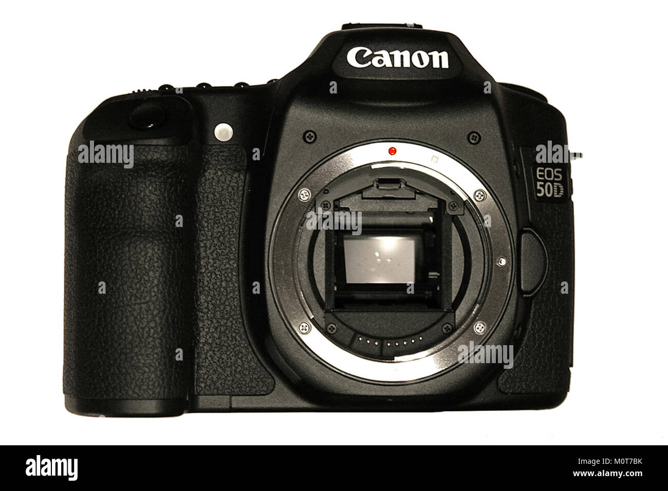 Canon EOS 50D front - Stock Image